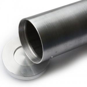Пенал с резьбовой крышкой (металл)